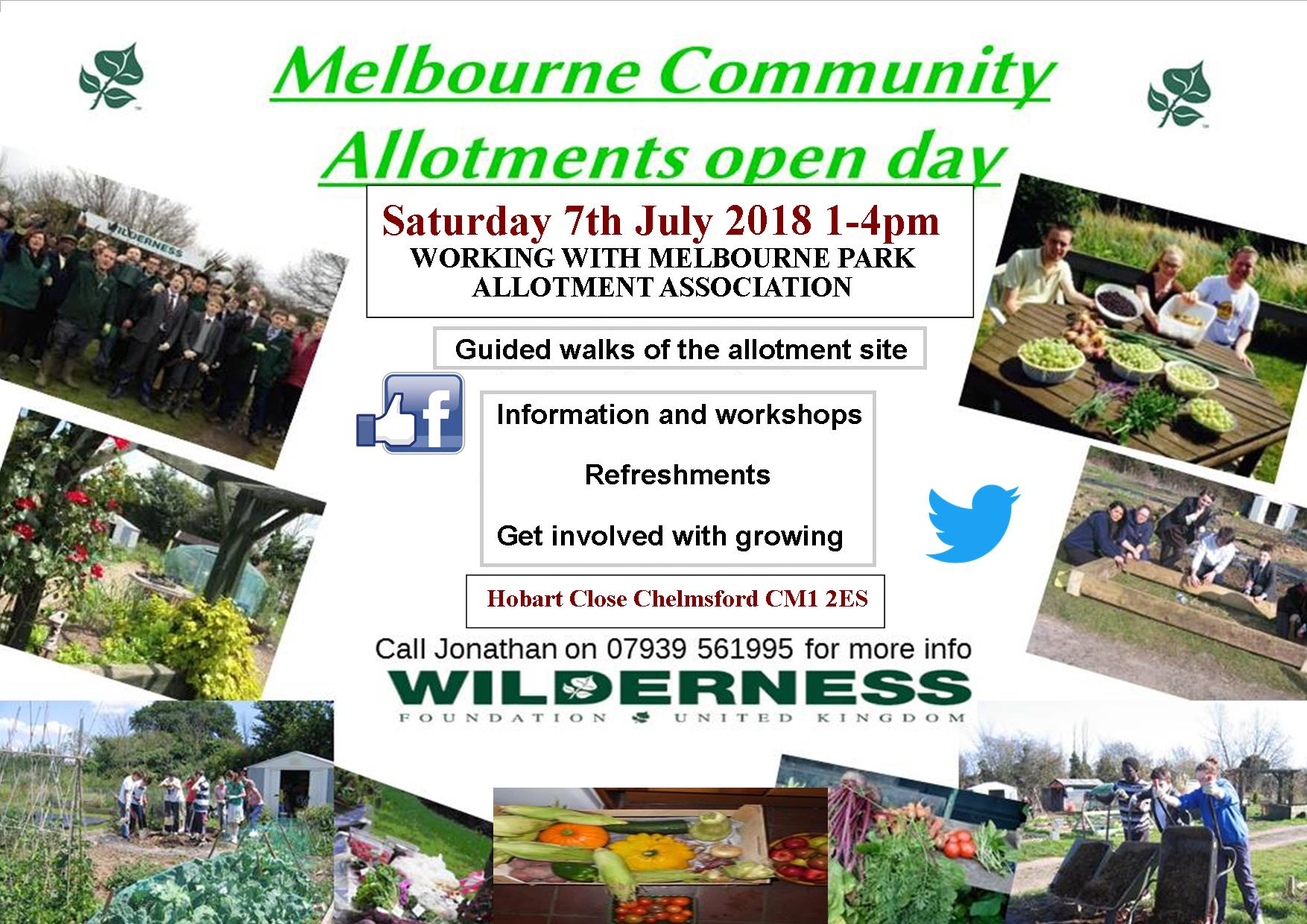 Melbourne Community Allotments Open Day