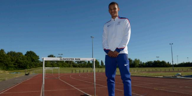 Recognition - Sam Bennett has been nominated for European Athletics' Rising Star Award			  Picture: AL UNDERWOOD