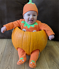 Southend Standard: Little Pumpkin Pic 1 Dotty Burns
