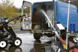 Essex Firefighting robots