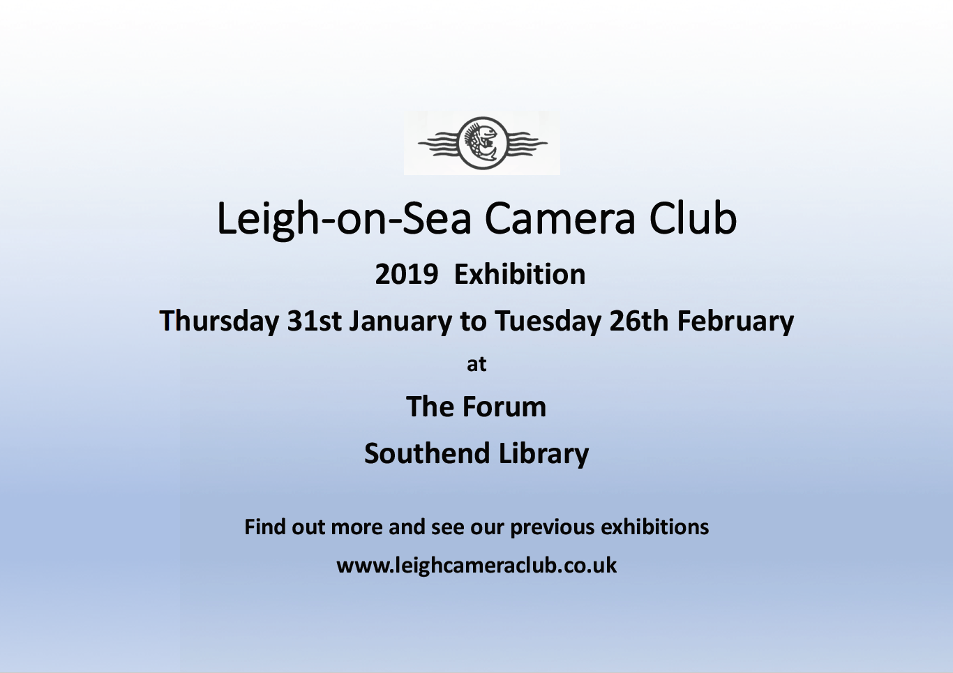 Annual Exhibition: By Leigh-on-Sea Camera Club