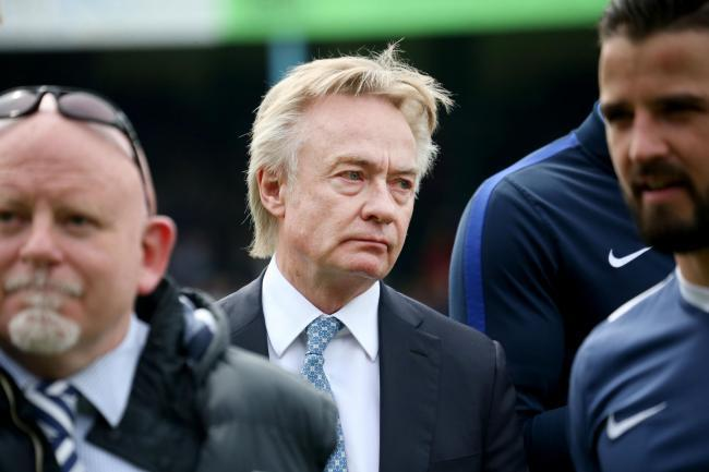 Unhappy - Southend United chairman Ron Martin