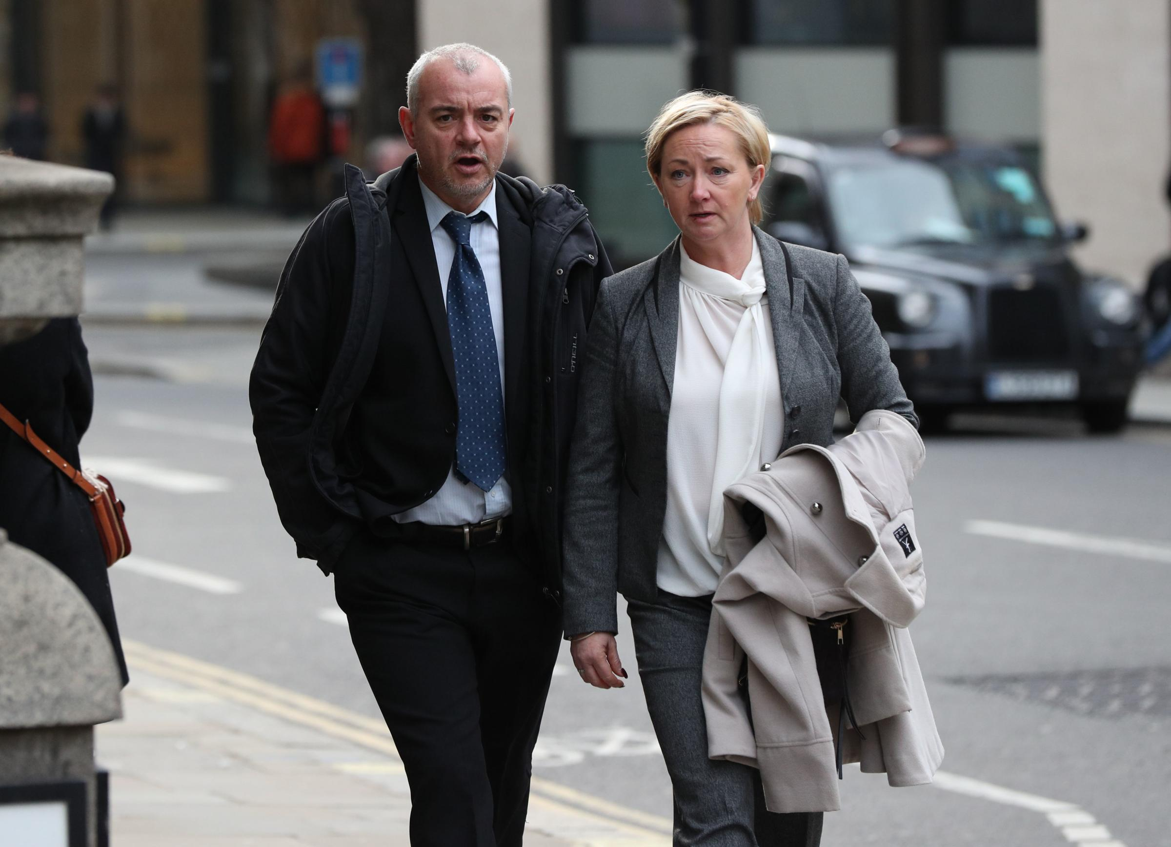 Guilty - Lee Pollard and Sharon Patterson  PICTURE: PA Wire