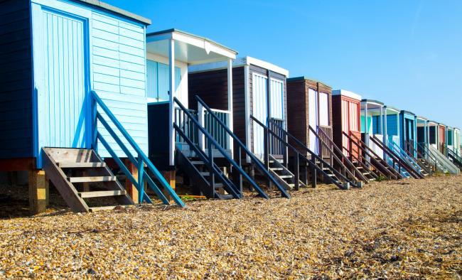 Thorpe Bay beach huts