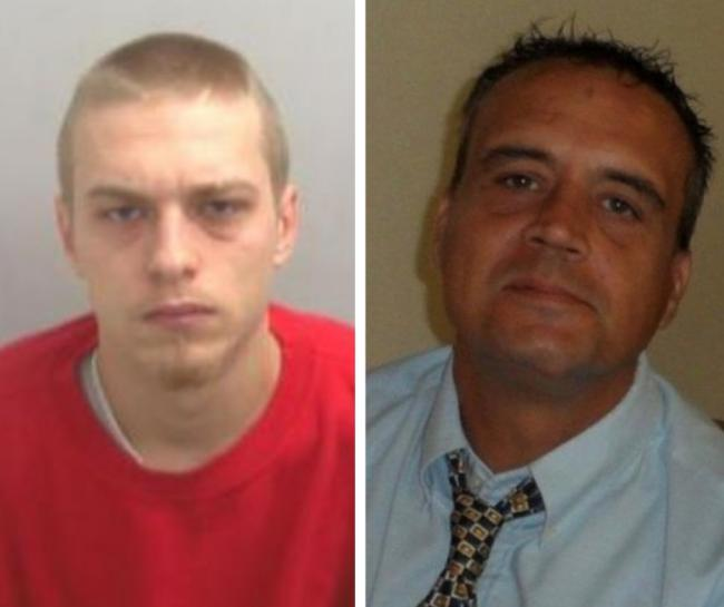 Kyle Sullivan (left) received 17 years and 4 months in prison for the manslaughter of Lee Evans (right) on June 22 2018 Photos: Essex Police