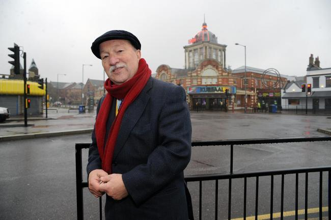 Save it - Graham Longley outside the Kursaal when he was a councillor back in 2014