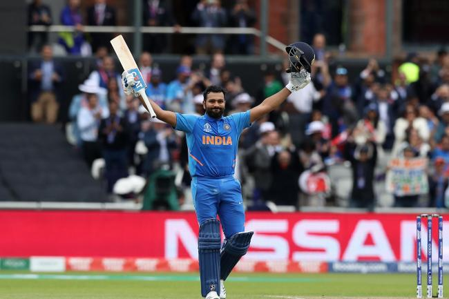 Rohit Sharma was in the runs